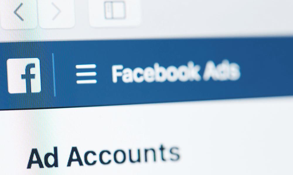 Advertisment 11 Facebook Ads Optimisation