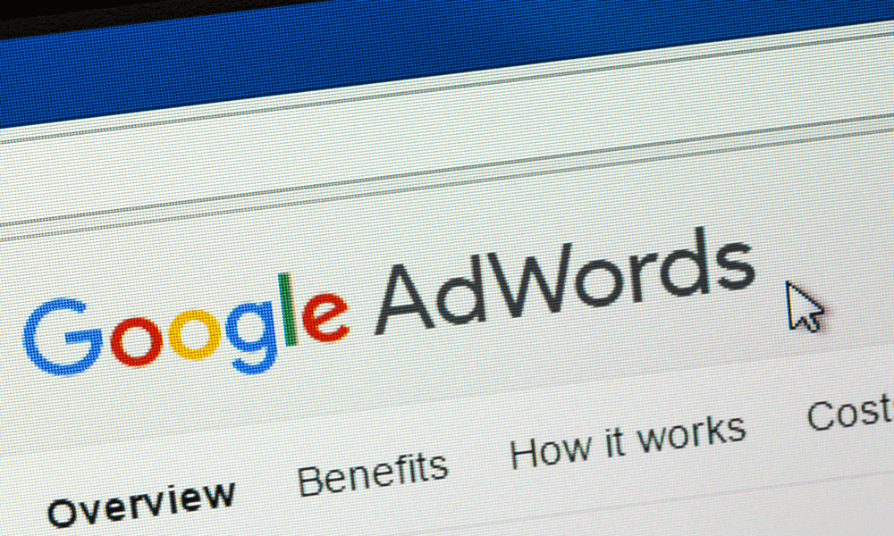 Advertisment 2 Google AdWords Creation