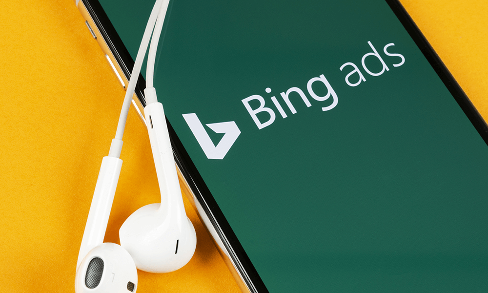 Advertisment 8 Bing Ads Creation