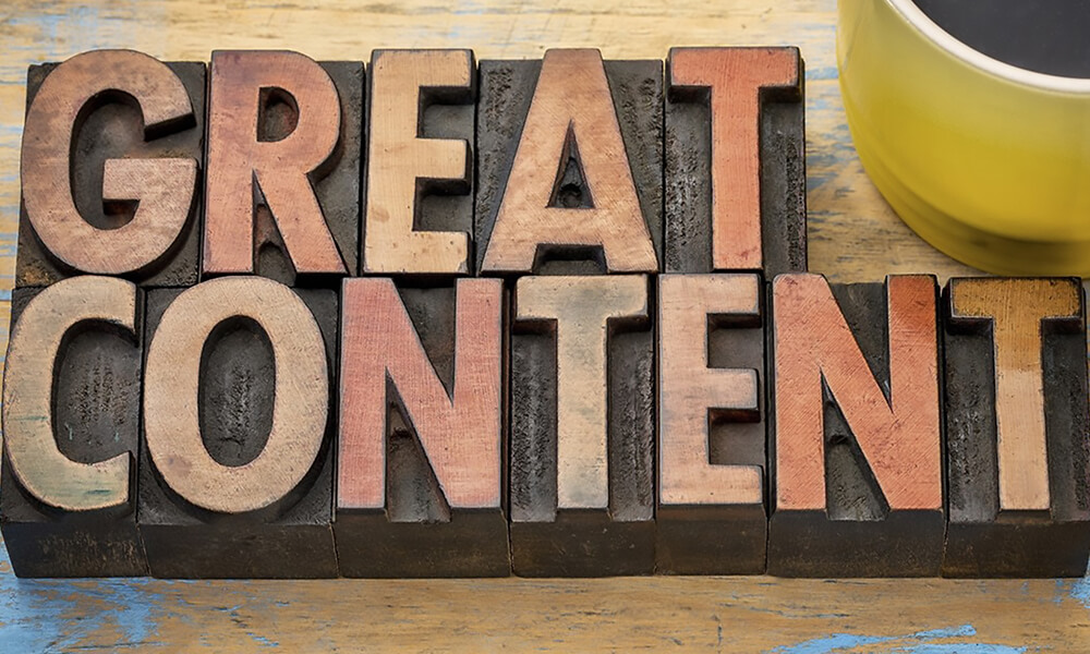 12 Easy Steps To Creating Great Content