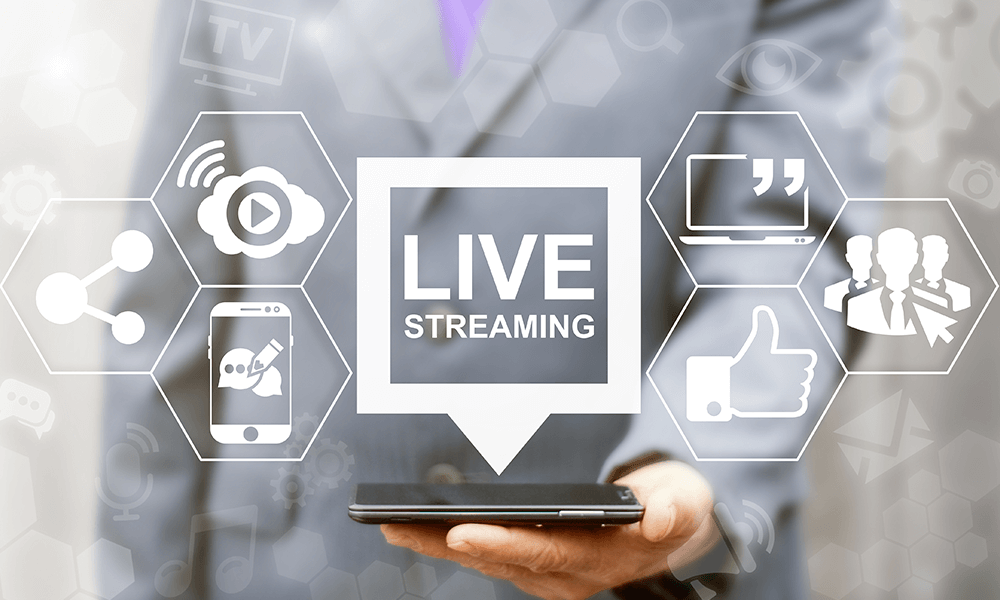 Benefits of using live stream for marketing
