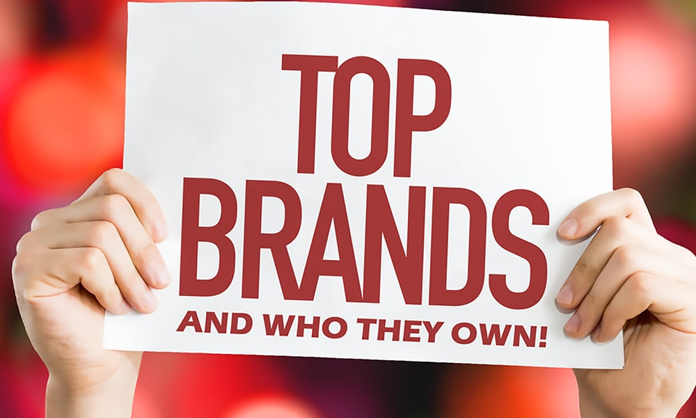 Top Companies And Brands You Probably Did Not Know They Own