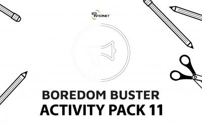 Kids 'Boredom Buster' Activity Books - COVID-19 Corona Virus