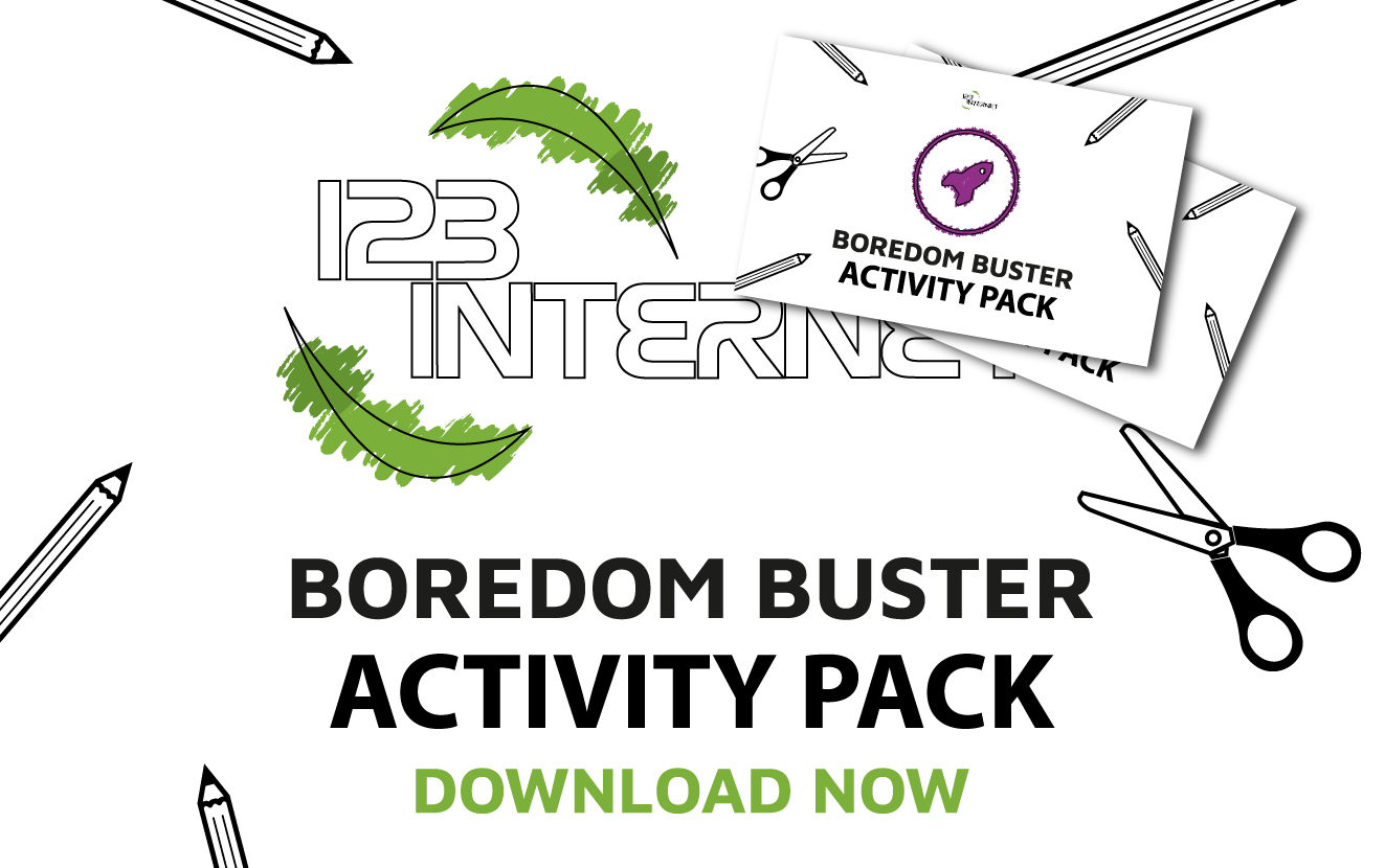 Kids Boredom Buster Activity Packs