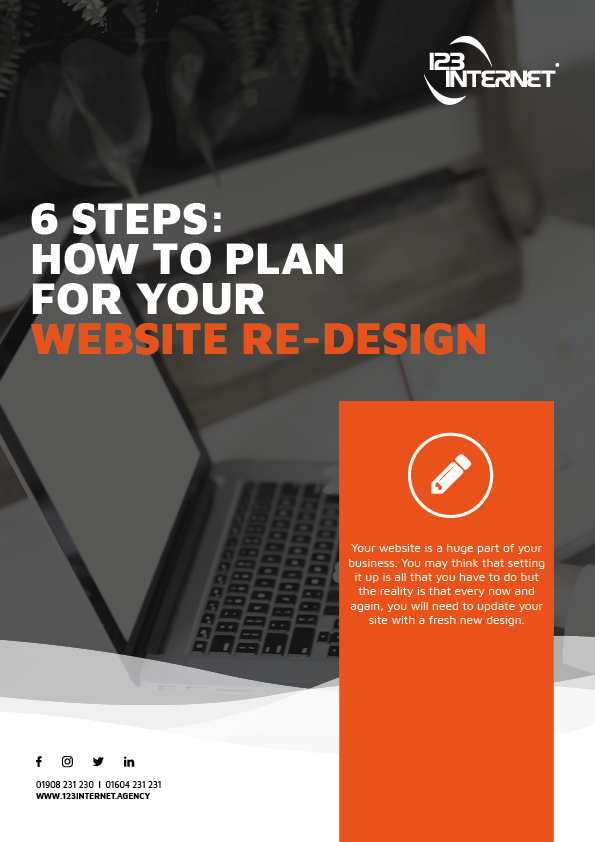 6 Steps How To Plan For Your Website Re Design