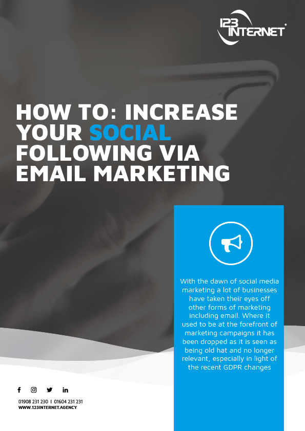 How To Increase Your Social Following Via Email Marketing