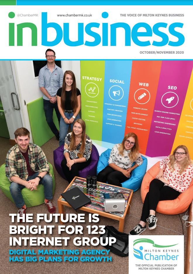 InBusiness Milton Keynes | October | Phenomenal Growth As Easy As 123