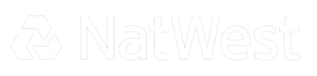 Natwest Bank White Logo