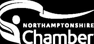 Northamptonshire Chamber Of Commerce White Logo