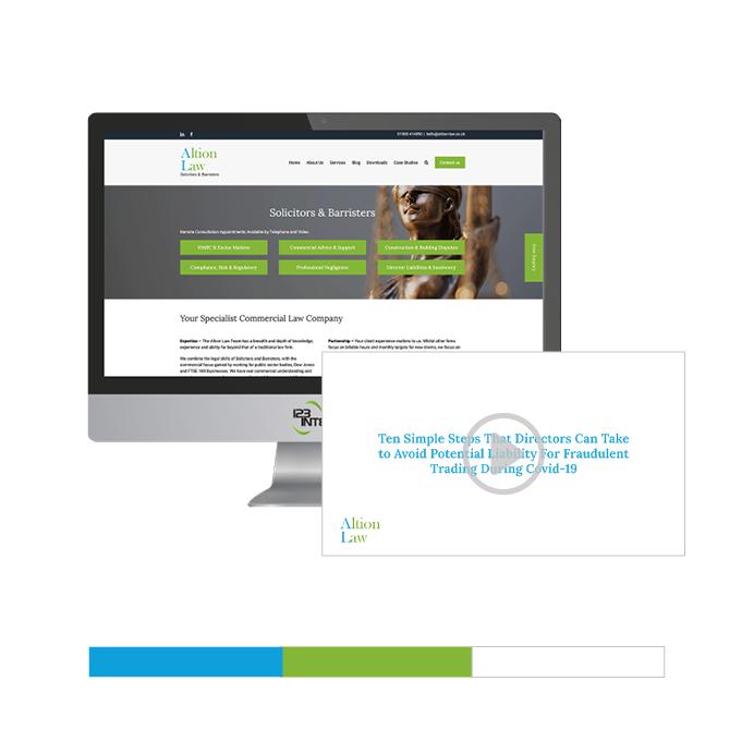 Altion Law Digital Marketing Case Study Image