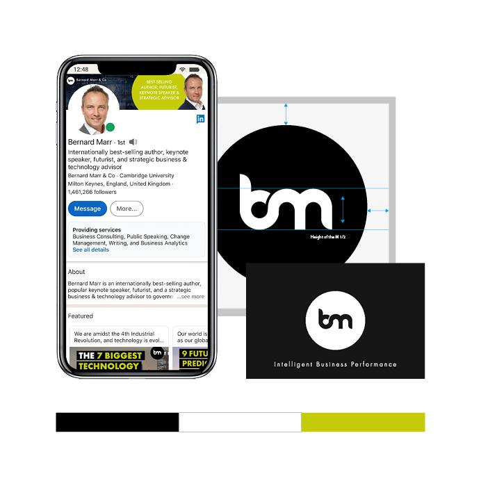 Bernard Marr Marketing Case Study Images
