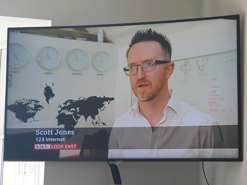 BBC Look East Interview